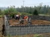11 A local stone mason was hired to lay the foundation of Ms. Reba'snew house.