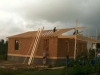14 Another pic of framing Ms. Reba's house by the team from Kentucky.