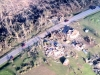 4 Aerial view of Ms. Reba's property in Clifton Corners, ALafter the F5 tornado.